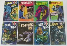 Set of 8 Star Trek Gold Key Comic Covers Spock Kirk Metal Wall Sign Art Plaques