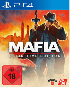 Mafia Definitive Edition (PS4 PlayStation 4) (NEU & OVP) (UNCUT) (Blitzversand)