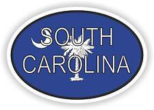 South Carolina Aufkleber Autoaufkleber Motorrad Nationalitätenkennzeichen Flagge