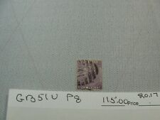 Great Britain Stamp Nice Scott# 51 P8 Used Nice 20.172