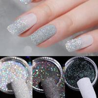Gradiente brillante uñas polvo láser arte de manicura cromo pigmento decoración