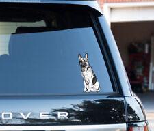 Berger allemand alsacien propriétaire amant Decal Autocollant Voiture, Van, Laptop Security