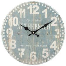 Jones Home and Gift Blue Beach Clock Multi-colour