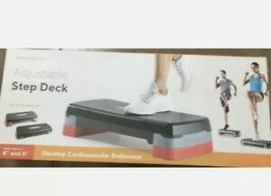 *New* ProForm Adjustable Step Deck 4-6 Inch Non-Slip Surface for Cardio Exercise