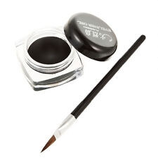 Black Beauty Cosmetic Waterproof Eye Liner Eyeliner Shadow Gel Makeup + B NoIFXO