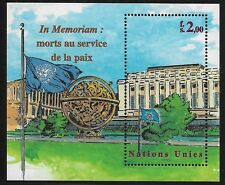 UN Scott #Geneva 347, Souvenir Sheet 1999 Complete Set FVF MNH