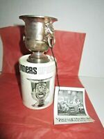 Viners Of Sheffield England Miniature Wine Cooler Silverplate Original Box & Tag
