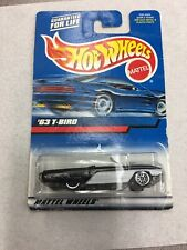 Hot Wheels 63 T-Bird #130 From The 2000 Mainline Series On Card B7
