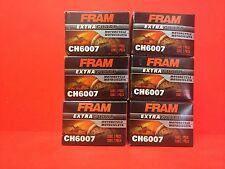 New Lot of 6 Fram CH6007 Oil Filter for 15412-413-005 15412-KEA-003 15441413005