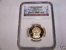 2009S PRESIDENTIAL DOLLAR  ZACHARY TAYLOR NGC PF70 UC