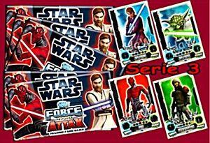 Star Wars Force Attax Serie 3  - Force Meister - Nummer 225 - 240 - auswählen