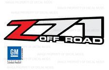 2001 - 2006 GMC Sierra Z71 decals - F - stickers set truck bed side 1500 2500 HD