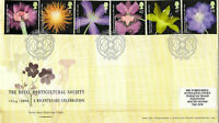 2004 ROYAL HORTICULTURAL SOCIETY ROYAL MAIL FIRST DAY COVER WISLEY SHS