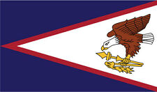 AMERICAN SAMOA FLAG VINYL STICKER South Pacific Ocean USA - Various Sizes