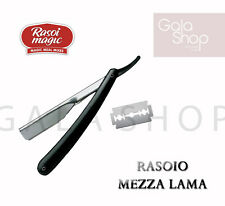 MAGIC RASOIO MEZZA LAMA PER BARBA RASATURA PROFESSIONALE BARBIERE
