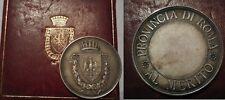 medaglia in argento al merito provincia di roma
