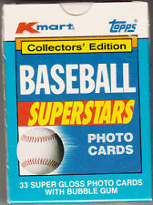 1990 Topps-K-Mart Baseball Superstars - Collectors' Edition Factory Sealed Set