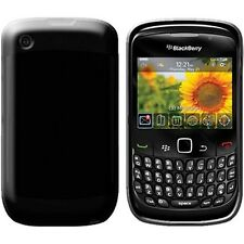 SILICONE CASE COMPATIBILE BLACKBERRY 8520 CURVE BLACK