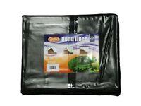 Pre Cut Pre Pack Garden Pond Liner PVC 0.5mm 3M x 3M