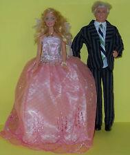 Barbie Sindy KEN, Vestito Da Matrimonio, Sposa, Vestito, Abiti Da Festa-SPLENDIDO