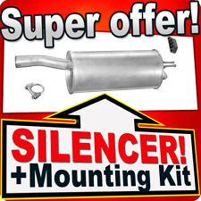 Rear Silencer Exhaust FIAT DOBLO 1.3 1.9 JTD 2000-2009 Box LLL