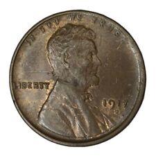 1917-D 1C Lincoln Cent Au