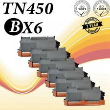 6PK TN450 Compatible for Brother MFC-7240 MFC-7360N Intellifax 2840 DCP-7060D
