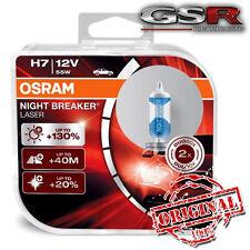 H7 OSRAM NIGHT BREAKER LASER  +130% DI LUCE  64210 NBL DUO BOX  2 LAMPADE