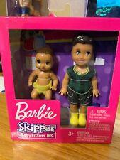 Barbie Skipper Babysitters Inc Brunette Baby & Chelsea Size Boy Doll Rare 2 Pack