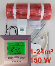 elektrische FLIESENHEIZUNG qm 1 2 3 4 5 6 7 8 9 10 m²