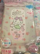 DAISO JAPAN Sanrio Hello Kitty Body wiping sheet Floral fragrance Made in Japan