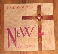 Simple Minds – New Gold Dream (81-82-83-84) Vinyl LP Album 33rpm  Virgin V2230