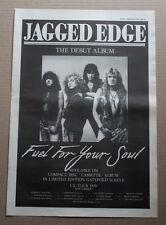 JAGGED EDGE - FUEL FOR YOUR SOUL -  ORIGINAL VINTAGE 1990 ADVERT POSTER