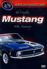 NEW DVD -  America's Favorite Cars: The Complete Mustang 40th Anniversary