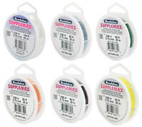 Beadalon® SuppleMax™ Nylonschnur Bespannungsmaterial * viel Farben