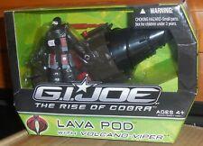 GI Joe Rise of Cobra LAVA POD w Volcano Viper Misb New Roc