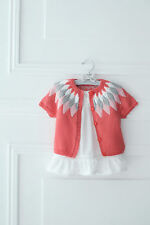 Knitting Pattern - Girls/Toddlers Pretty Cardigan  (4 sizes) PO124