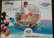 Disney Mickey Mouse Music Mat Interactive  Piano Electronic Toy Keyboard