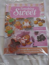 DeAGOSTINI SOMETHING SWEET CONFECTIONARY MAGAZINE GINGERBREAD CUTTER  No 23  NEW
