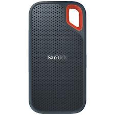 SANDISK Extreme® Portable SSD 1 TB, 1 TB SSD, 2.5 Zoll, extern, Grau/Rot