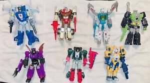 Transformers Titans Return Lot Of 7