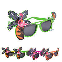 Flamingo Hawaiian Sunglasses Tropical Party Glasses Wedding Party Decoration PR