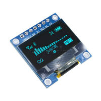 "Blue 0.96"" I2C IIC SPI Serial 128x64 OLED LCD LED Display Module for Arduino"