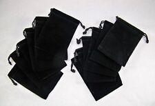 Velveteen Drawstring Pouches - Pack of 12