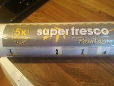 Superfresco Paintable Cooper White Durable Heavy Duty Wallpaper