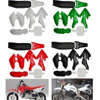 50cc 110cc 125cc 140cc Plastic 4-Stroke CRF50 Pit Bike Mudguard Seat Fairing US