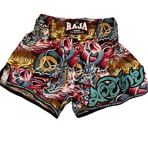 Raja Muay Thai Shorts - Dragon & Tiger