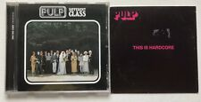 PULP - THIS IS HARDCORE  PROMO CD  ALBUM + DIFFERENT CLASS CD ALBUM