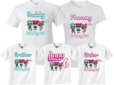 LOL Birthday Girl Family  Funny Cute matching T-Shirts