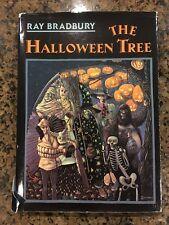 SIGNED The Halloween Tree By Ray Bradbury 1989